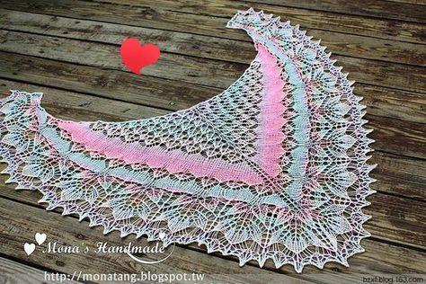 Шаль May Shawl - запись пользователя МамаМарина (Марина Юрьевна) в сообществе Вязание спицами в категории Вязание шали спицами