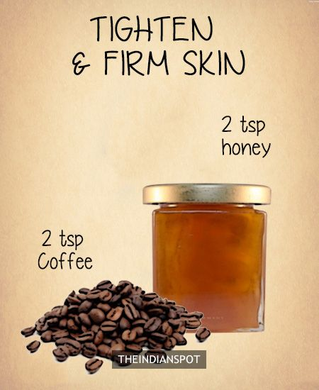 Coffee Facial – skin firming mask -
