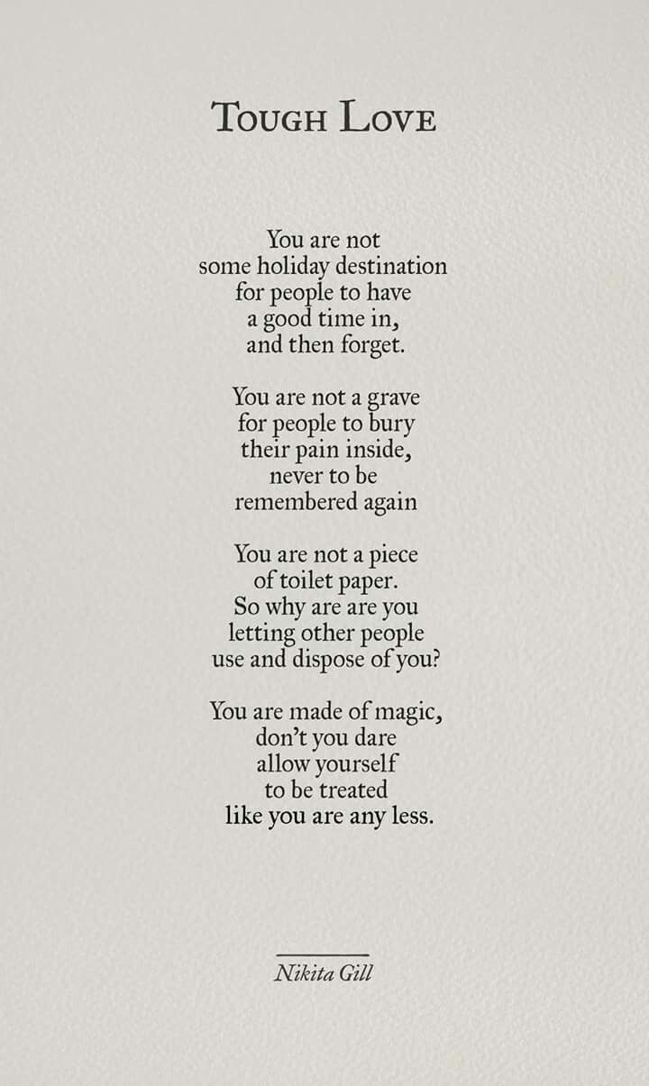 Note to self... Re-read this often