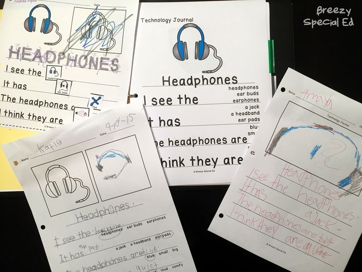 Technology Themed Differentiated Journal Writing for Special Education