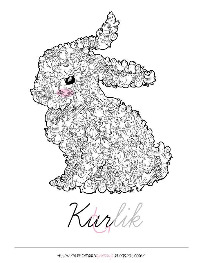 Kurlik, czyli połączenie wielu kur i królika :)