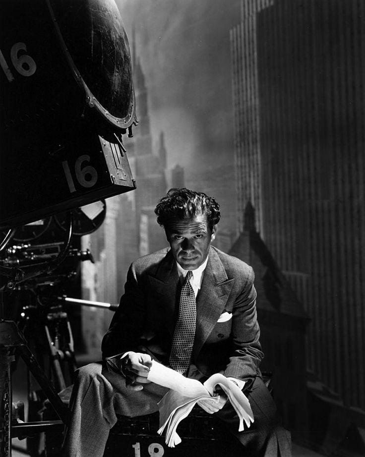 Frank Capra photographed by George Hoyningen-Huene.