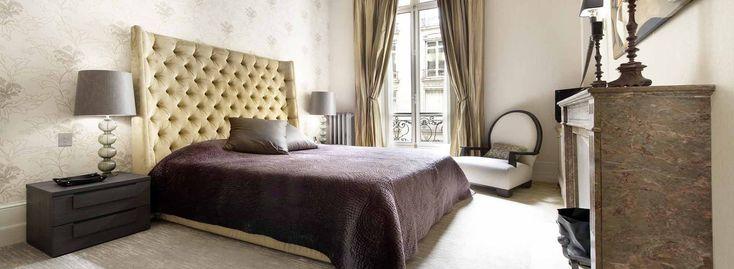 Exklusiv bei One Authentic Properties können Sie dieses komplett modernisierte Luxus Apartment in Paris oder ein Luxus Haus in Saint Jean Cap Ferrat mieten.