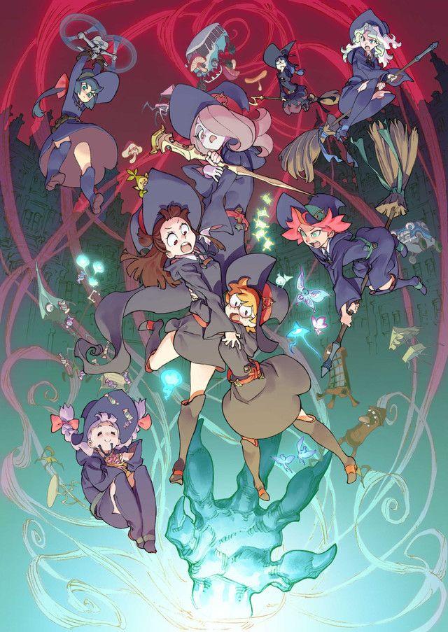Nuevo trailer e imagen promocional de Little Witch Academia Mahou Shikake no Parade