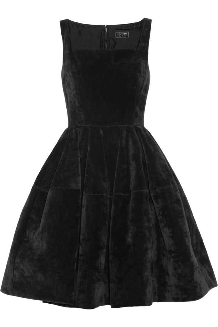 Lanvin Velvet dress NET-A-PORTER.COM
