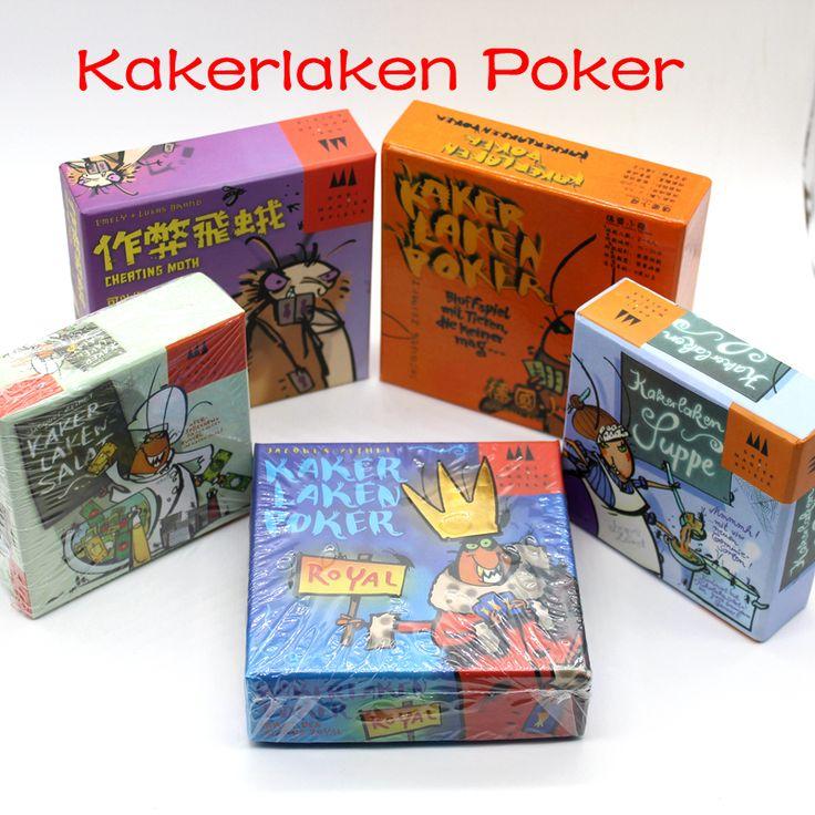 Kakerlaken: Salat, Poker, Royal, Suppe, Mogel Motte // Price: $12.95 & FREE Shipping Worldwide //    #boardgame #cardgame #game #puzzle #maze