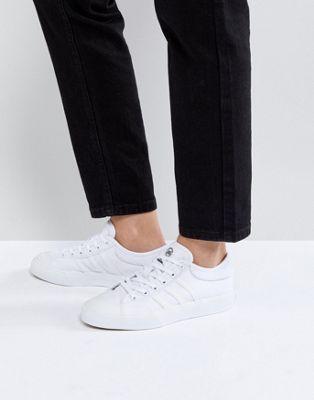 low priced 9f8cb 99dc4 adidas Skateboarding Matchcourt Triple White Sneakers