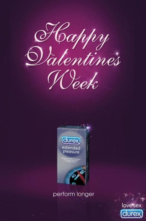 Durex – Happy Valentine's Week ad