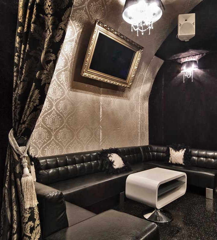 Wnętrze klubu Baccarat w Krakowie   Autor: Magdalena