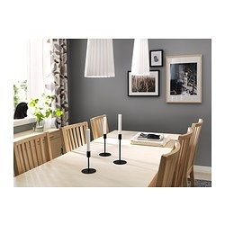 BJURSTA Extendable table - birch veneer - IKEA 199.00. Table idea for kitchen with banquette seating.