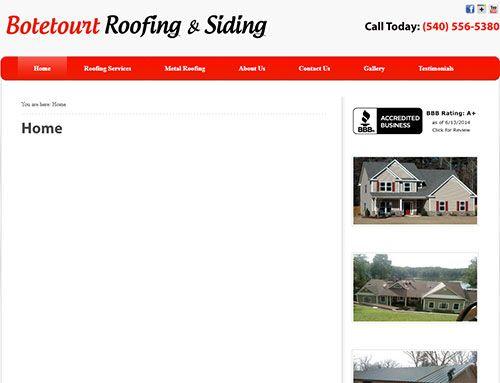 Roofers in Roanoke.