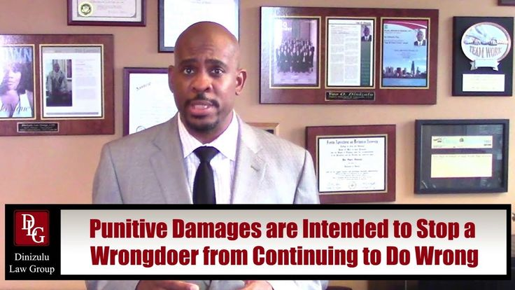 What Are Punitive Damages? - Chicago, IL Attorney Yao Dinizulu explains