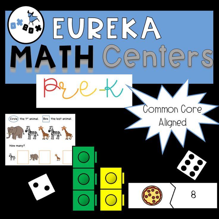 Eureka Math PreK Centers in 2020 Eureka math, Math