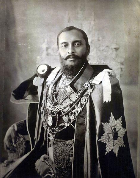 Son of Maharaja Sri Teen Chandra Shamsher Jang Bahadur Rana - c.1910