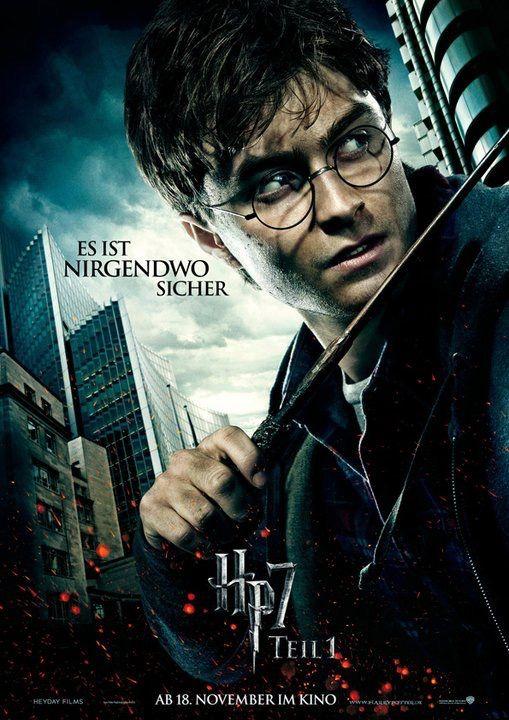 Harry Potter Und Die Heiligtumer Des Todes Teil 1 Movie Poster Harry Potter Harry Potter Film Harry Potter Zauberer Harry Potter Poster