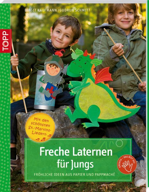 Freche Laternen für Jungs   TOPP Bastelbücher online kaufen
