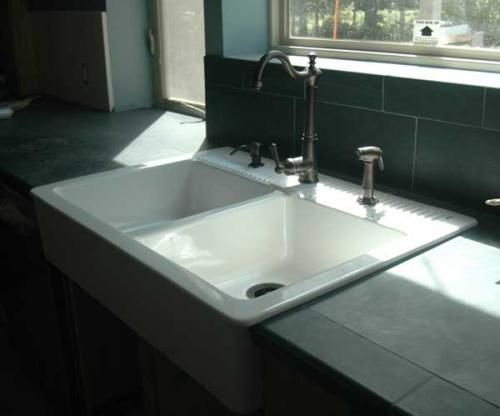 Ikea Kleiderschrank Fridolin ~   Sinks, Domsjo Sinks Want, Blue Tile, Ikea Farmhouse Sinks, Color Blox