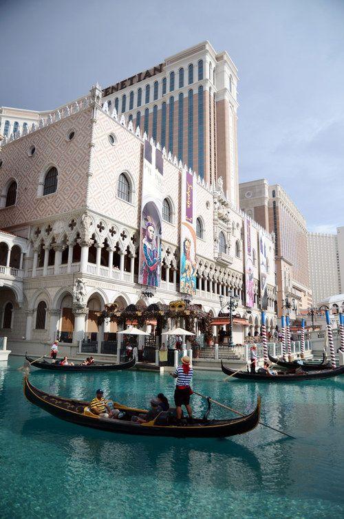 Venetian Resort Hotel Las Vegas, Las Vegas Strip, Las Vegas, United States. Not like the real Venice but closer to travel