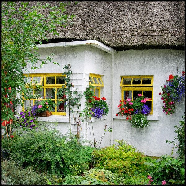 irish cottage | Ireland Photography,Ireland, Irish, Irish Cottage, Country Cottage