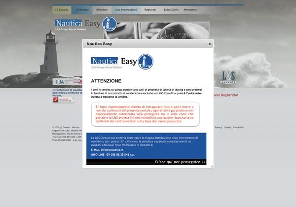 il nostro sito www.nauticaeasy.com