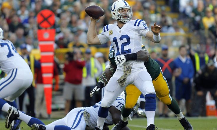 Is the Colts' Andrew Luck playing like the best QB in the NFL? = Andrew Luck, the successor of the great Peyton Manning in Indianapolis, has a cannon for an arm and an ingenious football mind, separated by the heaviest shoulders in the NFL. It was almost fitting seeing Luck and Manning.....