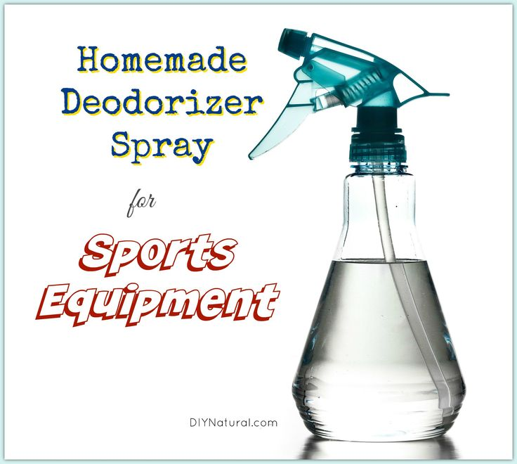 Fall means sports and sports mean sweat and bacteria. No worries though, you can beat the after the gym smell with this natural deodorizer spray!