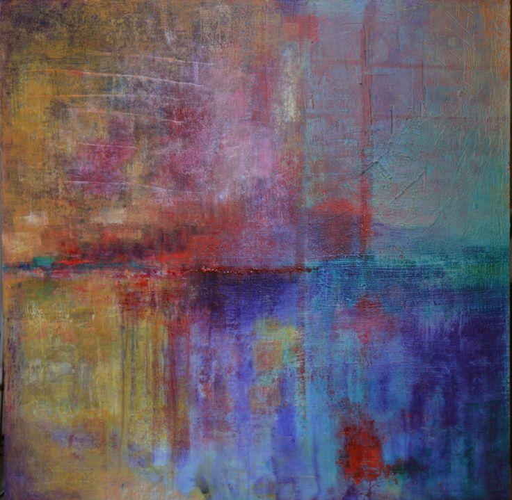 'Lake Mountain' by Uxbridge Ontario painter Carolyn Bather. Her inspiration…