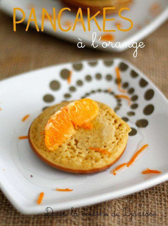 Petits pancakes à l'orange, pour bébés dès 8 mois