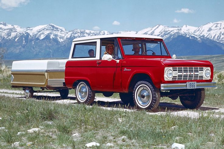 Ford introduced the original Bronco in August 1965 as a response to the needs of active Americans who sought adventure as well as practical transportation. Description from myautoworld.com. I searched for this on bing.com/images