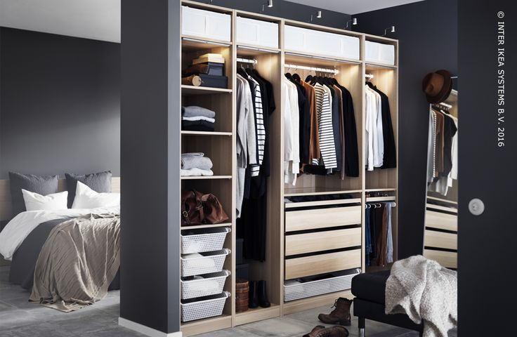 189 best chambre coucher images on pinterest do you for Armoire de chambre ikea