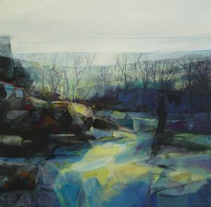 Kate Boyce , Amid Rocky Outcrops