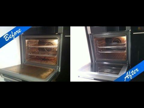 طريقتي في تنظيف الفرن بالخطوات تنظيف الفرن باحترافية Youtube Double Wall Oven Wall Oven Toaster Oven