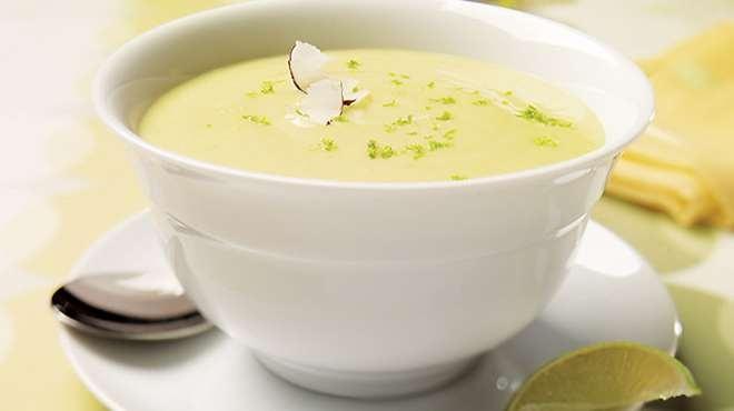 Crème de chou fleur cari coco | Recettes IGA | Soupe, Gingembre, Recette facile
