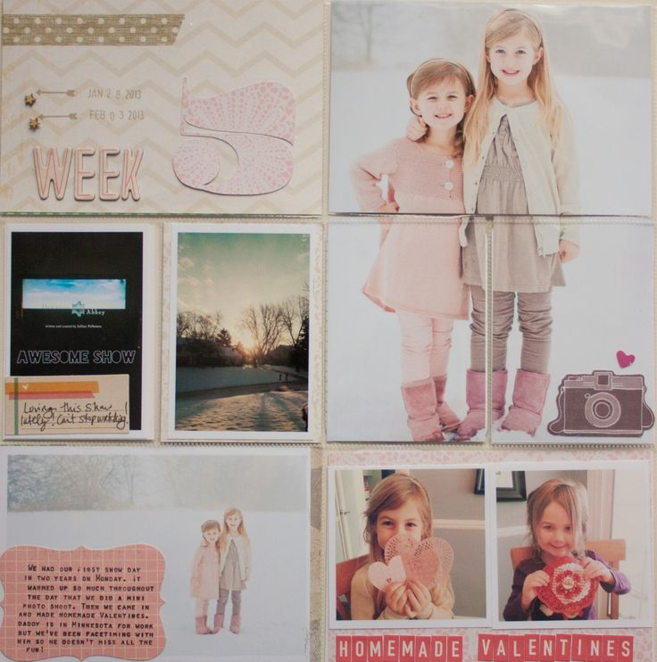 Project Life Week 5 by A2Kate at @Studio_Calico