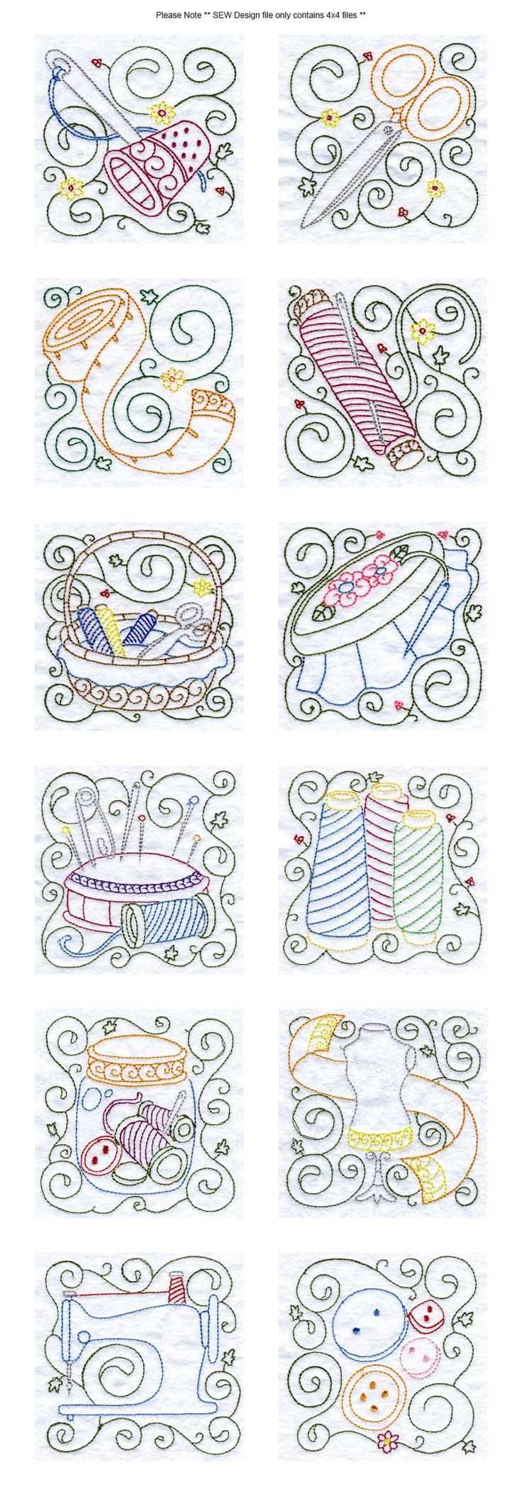 FREE SEW EMBROIDERY DESIGNS