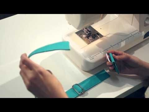 Sew Sweetness Purseware - How to Make an Adjustable Strap - YouTube