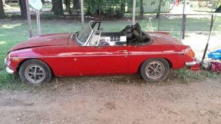 """Katrina's 1974 MG MGB """"Ruby"""" - AutoShrine Registry"""