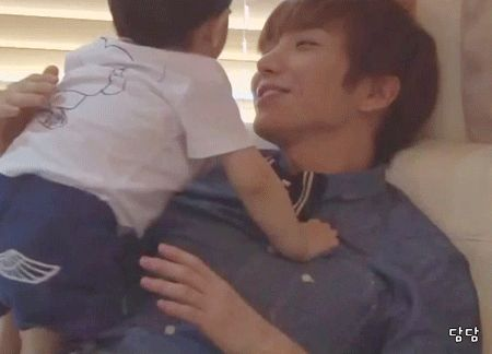 Leeteuk (Super Junior) He would make a wonderful daddy