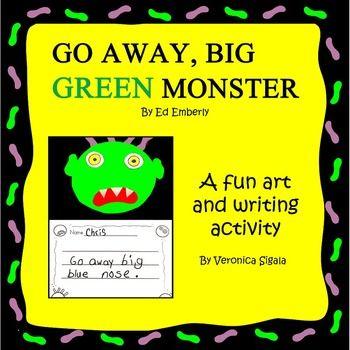 Go Away, Big Green Monster! Activities
