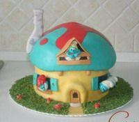 Здания, дома, замки, маяки, башни - Мастер-классы по украшению тортов Cake Decorating Tutorials (How To's) Tortas Paso a Paso