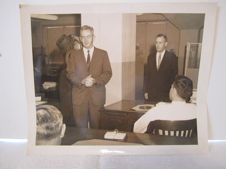 FBI New York Federal Bureau Photograph Special Agent 1963 Retirement Picture #9