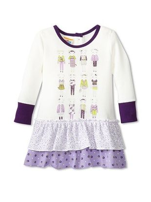 40% OFF Sweet Potatoes Baby Ruffle Tier Dress (Lilac Purple)
