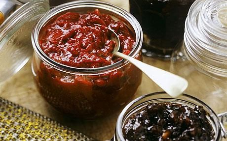 Rose Hip Chutney - I will have to keep this in mind for next summer.