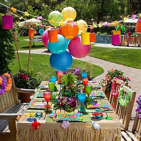 Tiki Luau Party