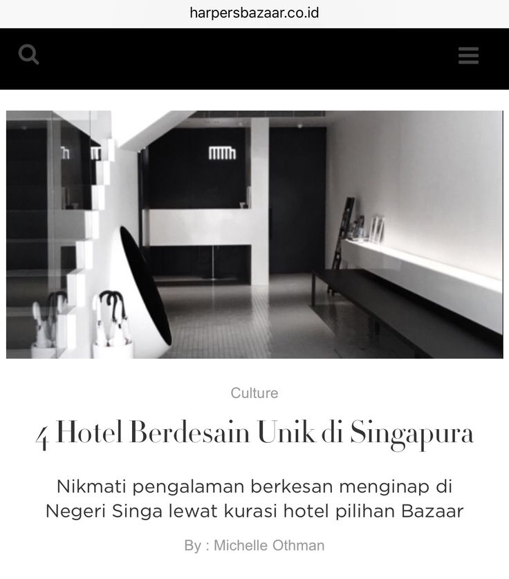 hotel recommendation article for Harper's Bazaar website