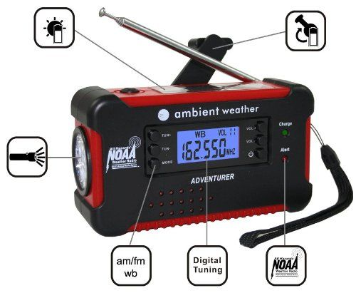We are firm believers that luck is where preparedness meets opportunity. Be prepared with our favorite RV emergency radio from Ambient Weather....