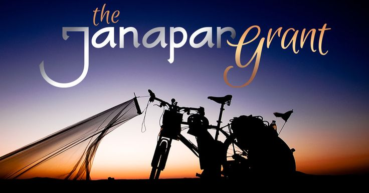 The Janapar Grant provides equipment and mentorship for one young person to set forth into the world on a rite-of-passage journey by bicycle. The grant is available to UK residents between the ages of 18-25 who intend to spend a minimum of 6 months travelling abroad.