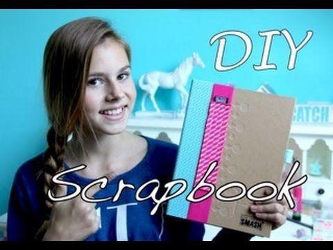 DIY SCRAPBOOK - NINA HOUSTON - YouTube