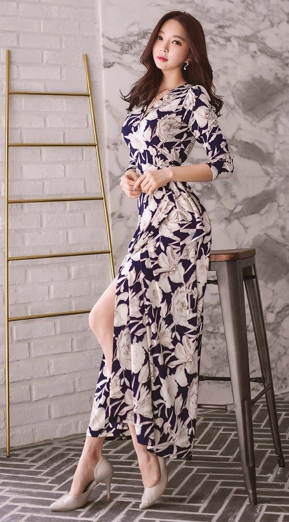 e91ffb5dae5 Korean Fashion Online Store 韓流 Trends Luxe Asian Women 韓国 Style Shop korean  clothing Freesia banding Dress Luxe Asian Women Design Korean Model Fashion  ...