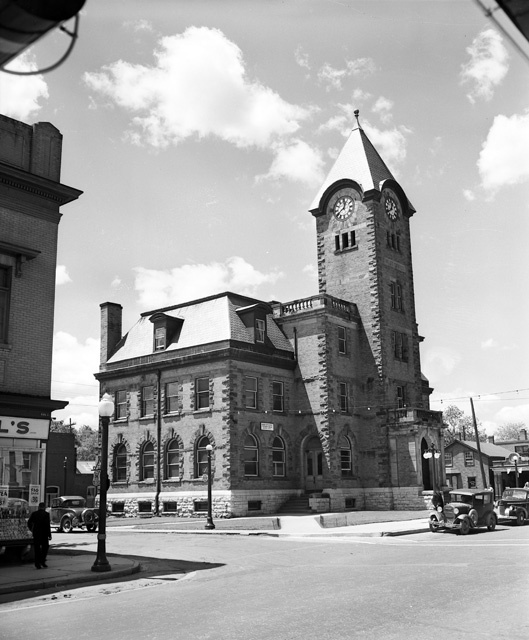 """Dundas Post Office: Excerpt: """"On July 28, 1847, Dundas became a town by an act known as """"Cap. XLV, 10th and 11th Vict."""""""